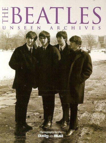 THE BEATLES UNSEEN ARCHIVES BOOK VG