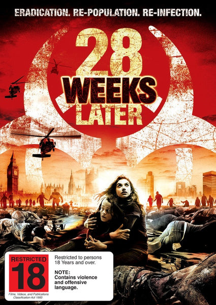 28 WEEKS LATER R18 DVD VG