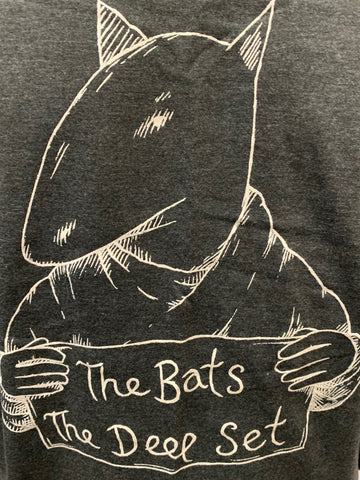 BATS THE-THE DEEP SET T-SHIRT XL *NEW*