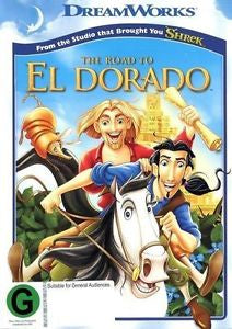 ROAD TO EL DORADO DVD VG
