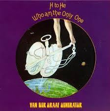 VAN DER GRAAF GENERATOR-H TO HE WHO AM THE ONLY ONE CD VG