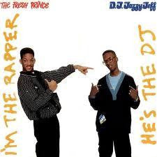 DJ JAZZY JEFF & THE FRESH PRINCE-HE'S THE DJ, I'M THE RAPPER 2LP VG+ COVER VG+