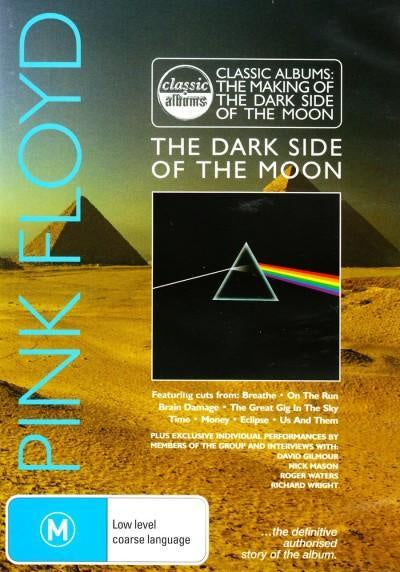 PINK FLOYD-THE MAKING OF THE DARK SIDE OF THE MOON DVD VG