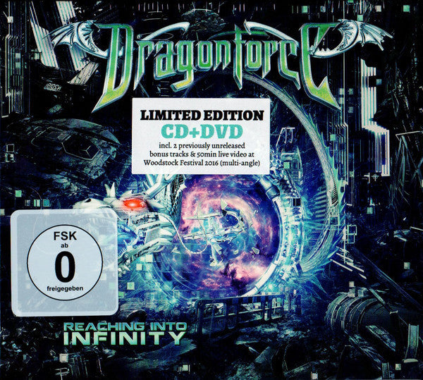 DRAGONFORCE-REACHING INTO INFINITY DELUXE CD+DVD *NEW*