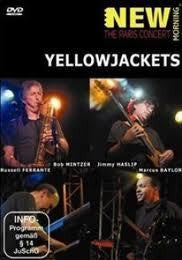 YELLOWJACKETS-THE PARIS CONCERT DVD *NEW*