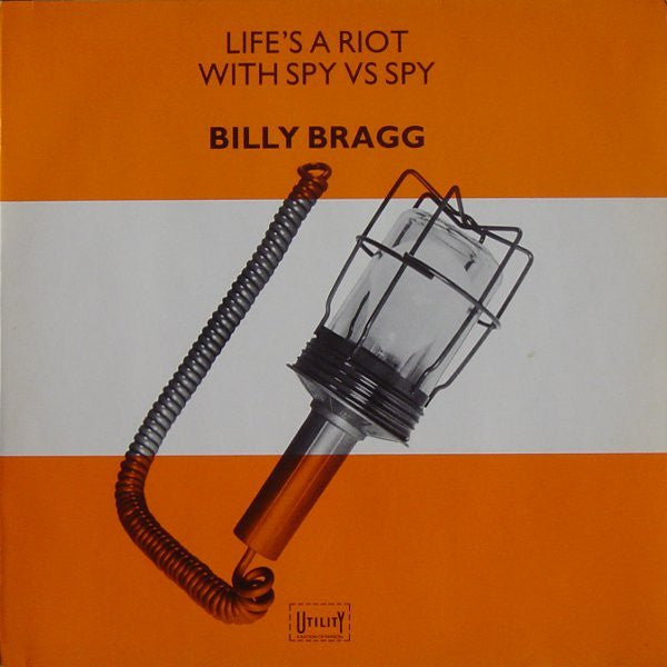 BRAGG BILLY-LIFE'S A RIOT WITH SPY VS SPY LP VG+ COVER VG