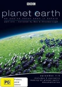 PLANET EARTH PART 1 REGION 4 2DVD VG