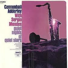 ADDERLEY CANNONBALL-QUIET NIGHTS OF QUIET STARS LP VG COVER G