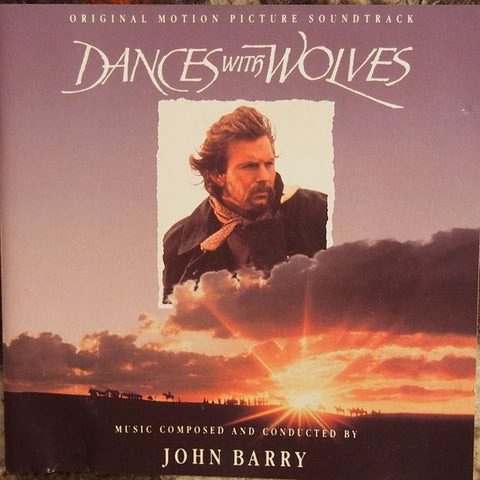 DANCES WITH WOLVES OST-JOHN BARRY CD VG