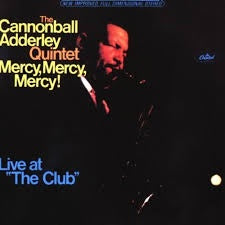 ADDERLEY CANNONBALL QUINTET THE-MERCY MERCY MERCY CD VG