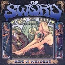 SWORD THE-AGE OF WINTERS CLEAR VINYL LP NM COVER EX