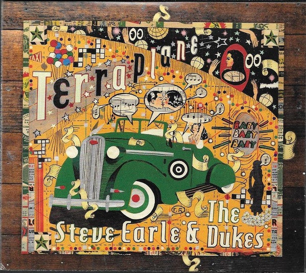 EARLE STEVE & THE DUKES-TERRAPLANE CD+DVD VG