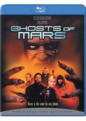 GHOSTS OF MARS BLURAY VG+