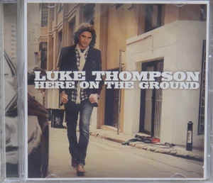THOMPSON LUKE-HERE ON THE GROUND CD VG