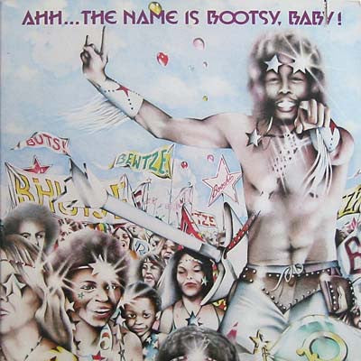 COLLINS BOOTSY-AHH...THE NAME IS BOOTSY, BABY ! LP VG COVER VG