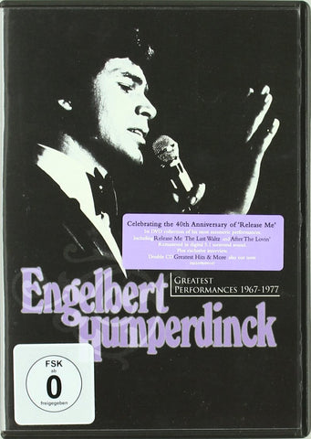 HUMPERDINCK ENGELBERT-GREATEST PERFORMANCES 1967-1977 DVD VG