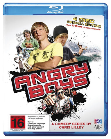 ANGRY BOYS 4BLURAY VG+