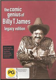 JAMES BILLY T-THE COMIC GENIUS OF BILLY T JAMES DVD + CD VG