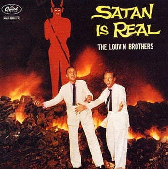 LOUVIN BROTHERS THE-SATAN IS REAL LP *NEW*