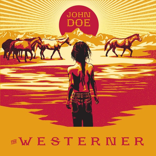DOE JOHN-THE WESTERNER CD VG