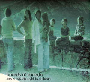 BOARDS OF CANADA-MUSIC HAS THE RIGHT TO CHILDREN CD VG