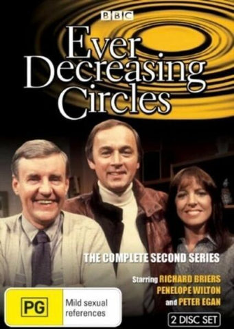 EVER DECREASING CIRCLES-SEASON TWO 2DVD VG