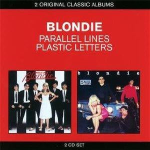 BLONDIE-PARALLEL LINES/ PLASTIC LETTERS 2CD VG