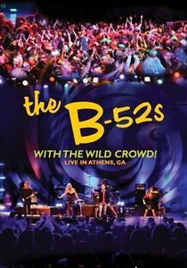 B-52S WITH THE WILD CROWD!-LIVE IN ATHENS, GA DVD VG
