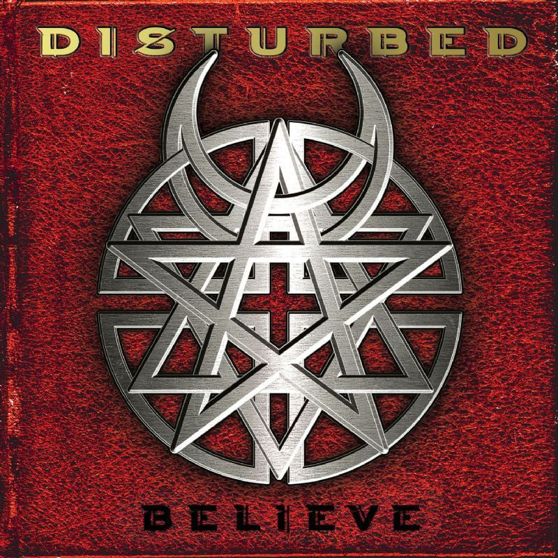 DISTURBED-BELIEVE CD VG+