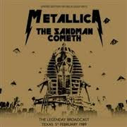 METALLICA-THE SANDMAN COMETH GOLD VINYL LP *NEW*