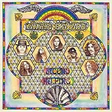 LYNYRD SKYNYRD-SECOND HELPING LP EX COVER VG+