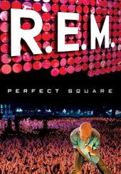 R.E.M.-PERFECT SQUARE DVD VG+