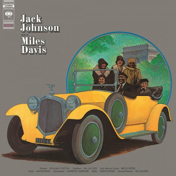 DAVIS MILES-JACK JOHNSON LP *NEW*