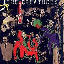 "CREATURES THE-RIGHT NOW 12"" VG+ COVER VG+"