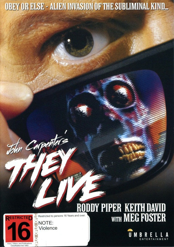 THEY LIVE DVD VG