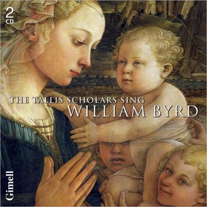 BYRD WILLIAM-THE TALLIS SCHOLARS SING WILLIAM BYRD 2CD VG