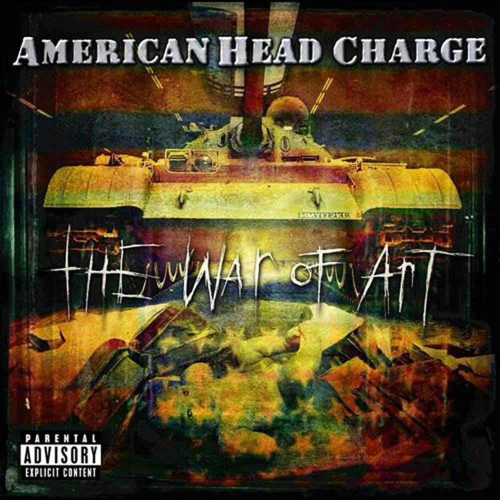 AMERICAN HEAD CHARGE-THE WAR OF ART CD VG