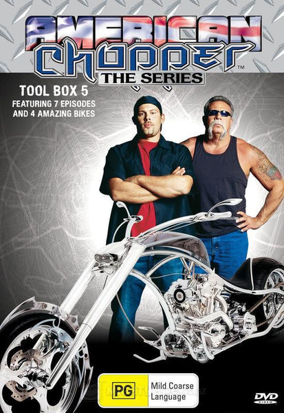 AMERICAN CHOPPER TOOL BOX 5-3DVD SET M