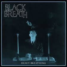 BLACK BREATH-HEAVY BREATHING WHITE VINYL LP NM COVER EX