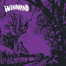 WINDHAND-WINDHAND BLACK/ PURPLE VINYL LP NM COVER EX
