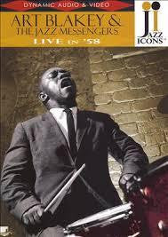 BLAKELY ART & THE JAZZ MESSENGERS-LIVE IN '58 DVD *NEW*