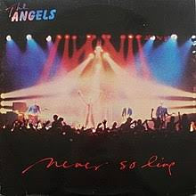 "ANGELS THE-NEVER SO LIVE 12"" EP EX COVER VG+"