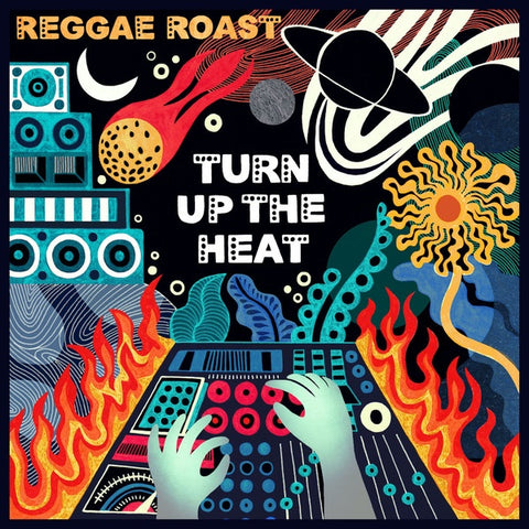 REGGAE ROAST-TURN UP THE HEAT ORANGE VINYL 2LP *NEW*