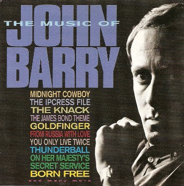 BARRY JOHN-THE MUSIC OF JOHN BARRY CD VG