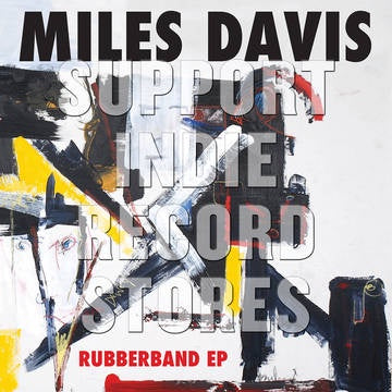 "DAVID MILES-RUBBERBAND 12"" EP *NEW*"