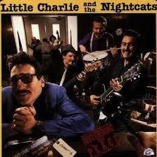 LITTLE CHARLIE AND THE NIGHTCATS-DISTURBING THE PEACE LP EX VGPLUS