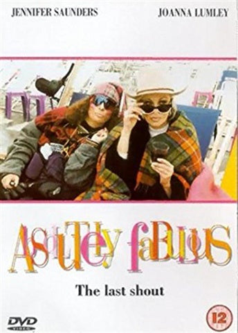 ABSOLUTELY FABULOUS-THE LAST SHOUT DVD VG