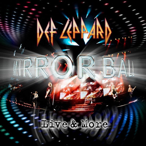 DEF LEPPARD-MIRROR BALL LIVE & MORE  2CD+DVD *NEW*