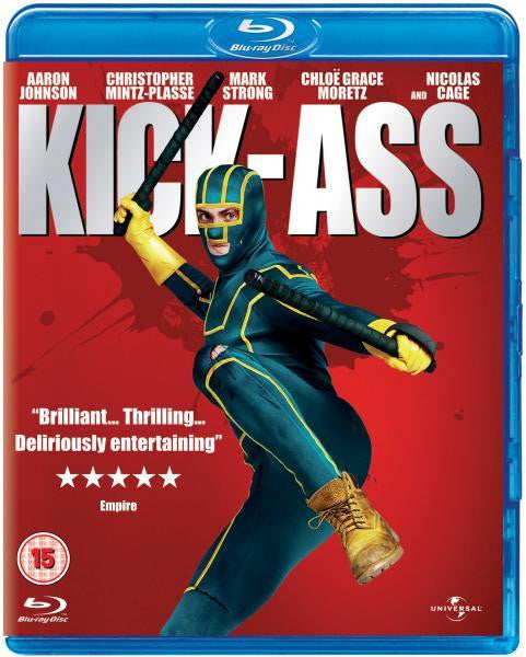 KICK ASS BLURAY VG
