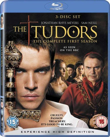 TUDORS THE-COMPLETE FIRST SEASON 3BLURAY VG+